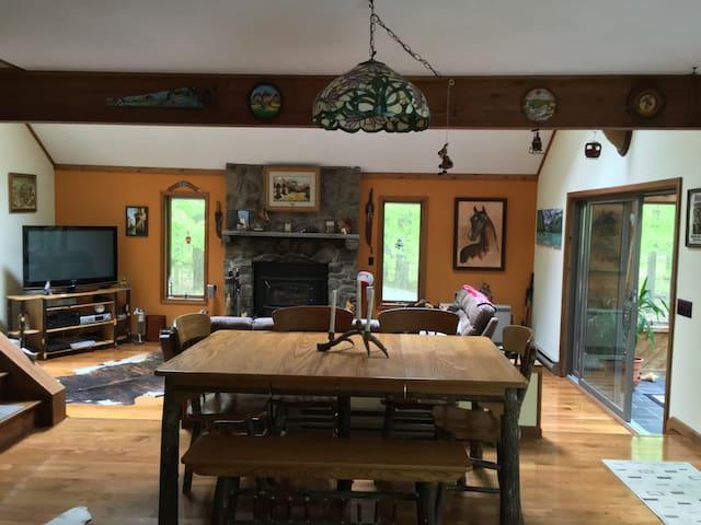 Cozy Loft Home - Clifton Township - 獨棟