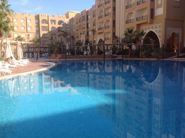 Luxurious Flat, Sea Sand and Sun - Hammam Sousse - Lägenhet