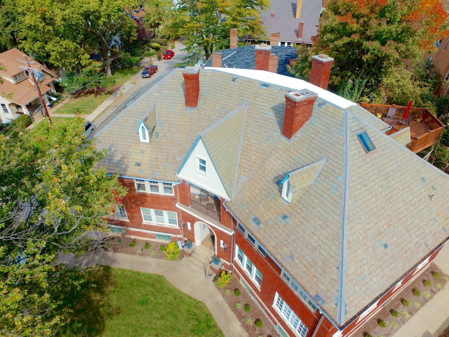 2584 Madison Rd - Aerial view