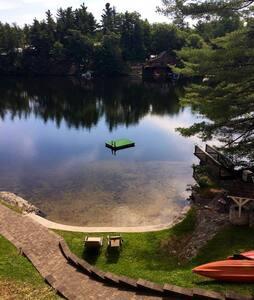 Stunning Adirondack Lakefront Home,Trout Lake