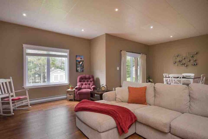 Comfortable walkout apartment to call home