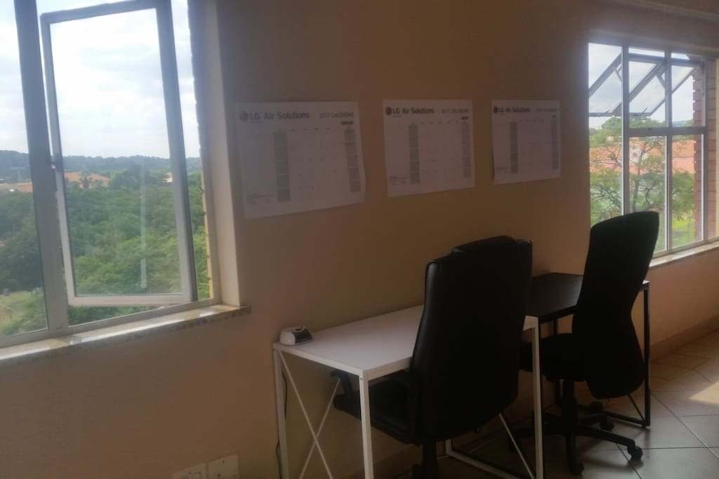 Study or Work Area