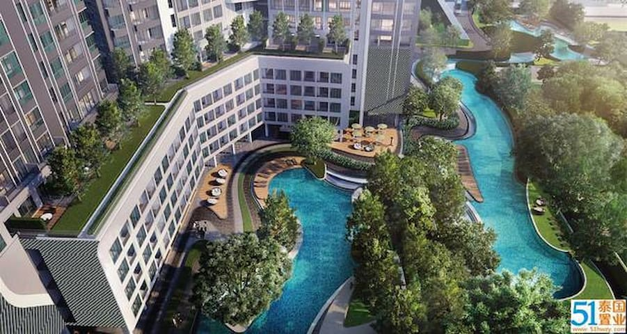 14 bitec bts new condo 会展中心,海水泳池 swimming pool