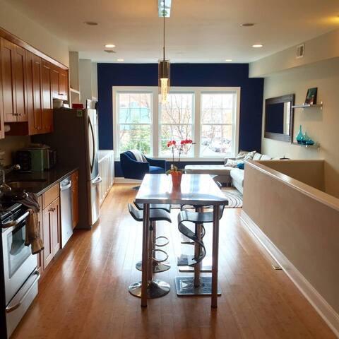 Central, luxury 2bd/2ba w/ private deck - Washington - Talo