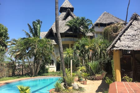 Lamu Island's Seafront Villa 2 bedroom Apartment.