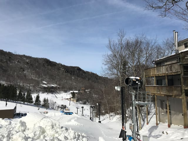 Beech Mountain ski-in/out OR bike in/out