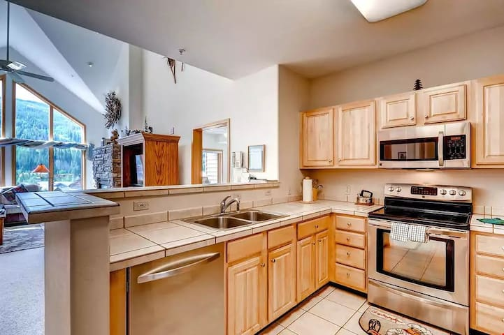 Prepare meals in the comfort of your own fully-equipped kitchen.