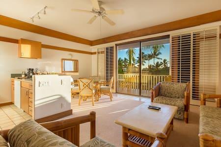 NEW Poipu Beach Condo, Sleeps 4. Steps to Sand. - Koloa - Condominium