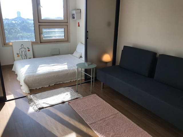 Ocean View Double bed Jungmun - Late Check Out 2pm
