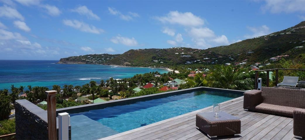 Nita - Ideal for Couples and Families, Beautiful Pool and Beach - St. Barts - Villa