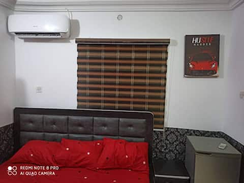 A self Contained fully furnished apartment