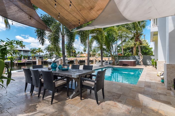Marvelous Pool House in the heart of Ft Lauderdale