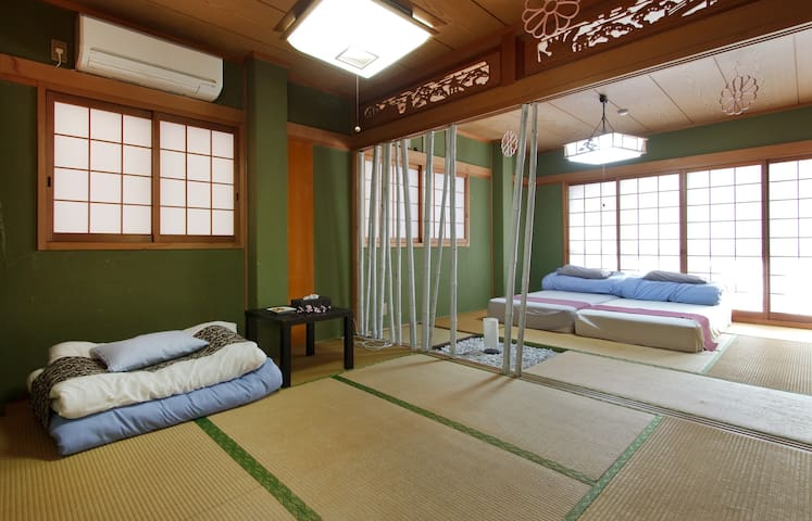 JAPANESE DELUXE ROOM! NEXT STOP UMEDA/OSAKA STA(2F - Kita-ku, Ōsaka-shi - Haus