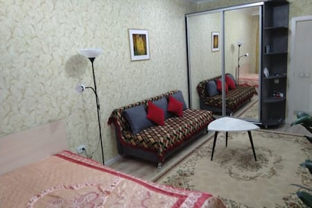 Comfort and bright flat for your stay in Almaty