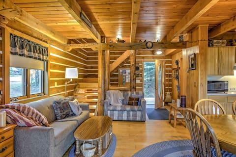 Steps to Slopes! Scenic Brule Village Cabin