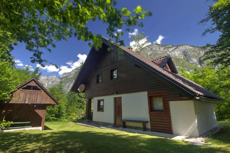 Apartment in forest, 300 m from Lake Bohinj - Ukanc