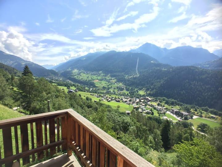 Chalet Grand View Wallis. Luxe. Nieuw. Prachtig