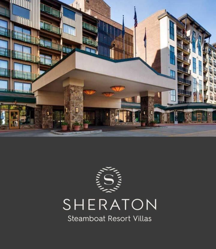 Sheraton Steamboat Resort Villas- 1BD