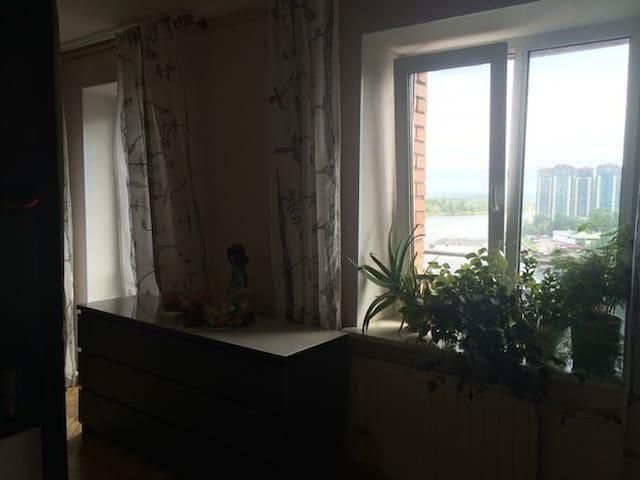 Комната с видом на Неву