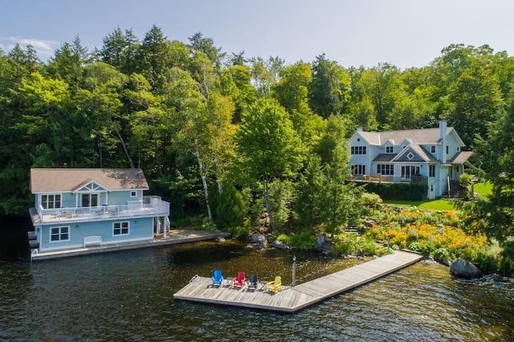 Sanctuary on Lake Muskoka is the perfect family cottage!
