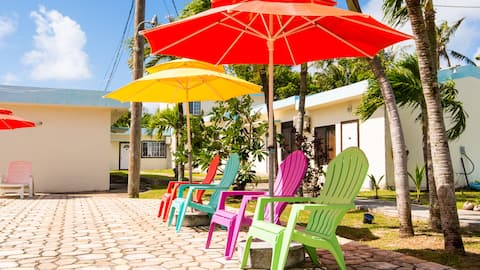 The Blue Condo 5people stay house (Rose)