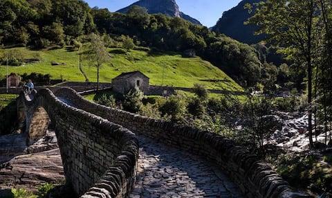 Rustico Ponte Dei Salti Valle Verzasca