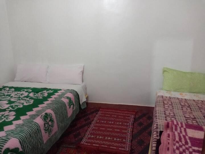 Gîte Assafar - Chambre Quadruple