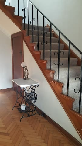 access to you accommodation via stairs.