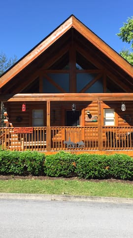 Wild West Cabin life just a block off the Parkway!