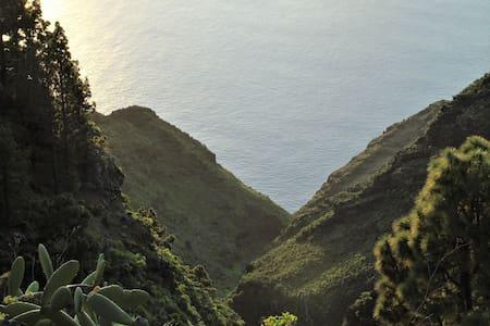 Panoramablick auf den Atlantik