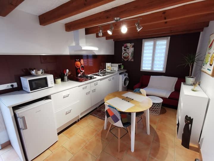 meublé de 34 m²  indépendant