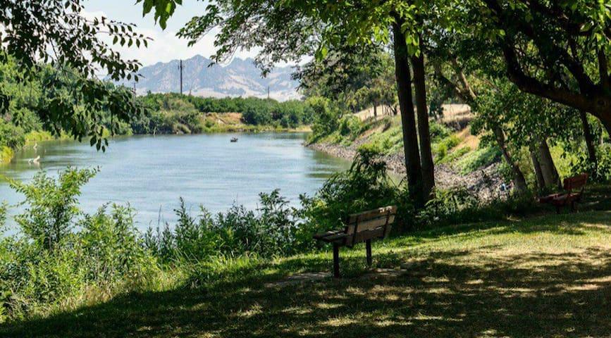 Sacramento River - hunting/fishing paradise!