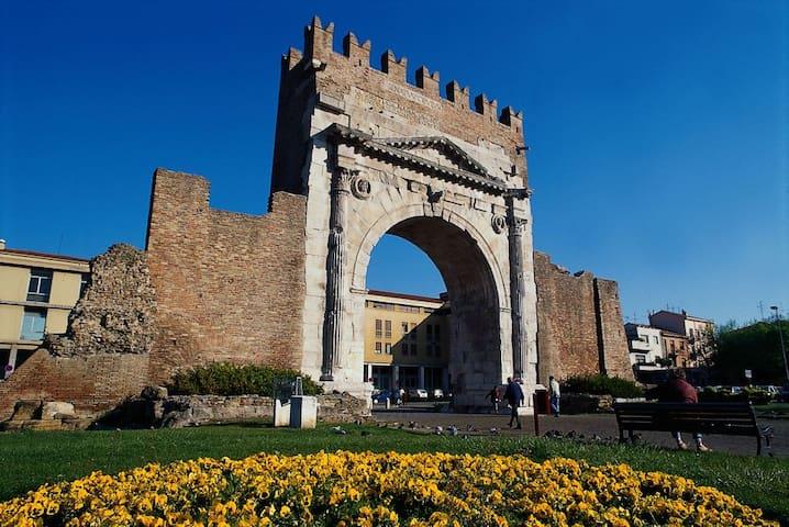 Trilo a Rimini nel cuore del centro storico - Rimini - Apartamento