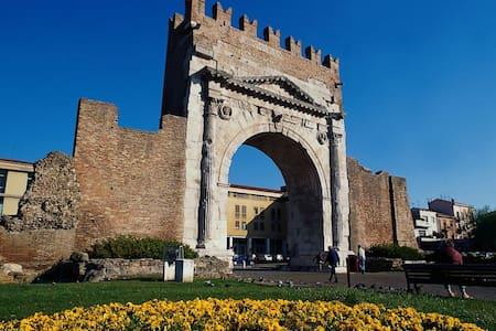 Trilo a Rimini nel centro storico