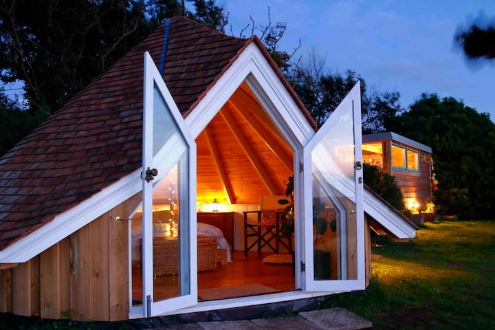 Gwithian,Godrevy Glamping Sea Views, Hidden Garden