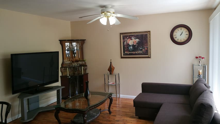 Plush Vacation Rentals. Private roomQ with parking - Atlanta - Apartment