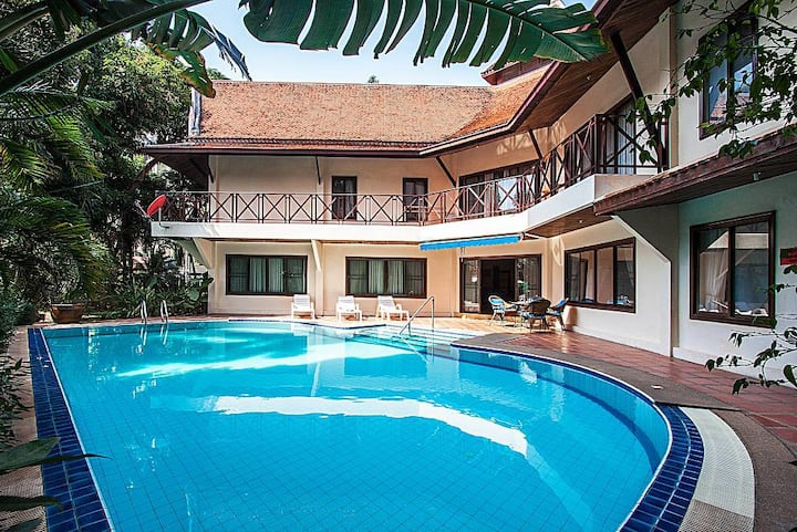 Baan Wat | 5 Bed Asian Style Pool Villa