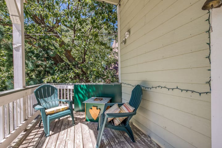Tri-level home w/ two balconies in a beautiful, wooded neighborhood