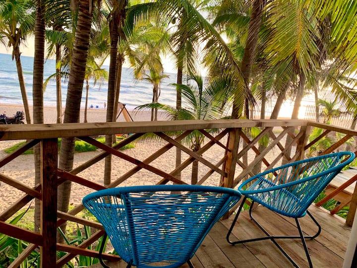 Paradisíaco frente al mar de Mazatlán, 4 personas
