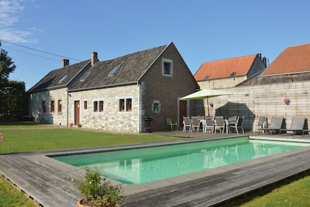 Charming Cottage with Private Swimming Pool in Limbourg