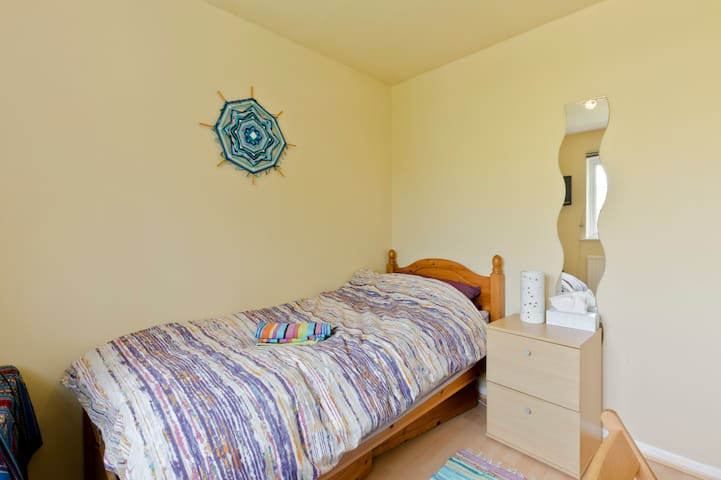 Single room in village location