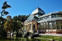 Casa de cristal en el Parque el Retiro