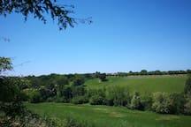 Un altro panorama classico della nostra zona -  Another classic panorama of our area
