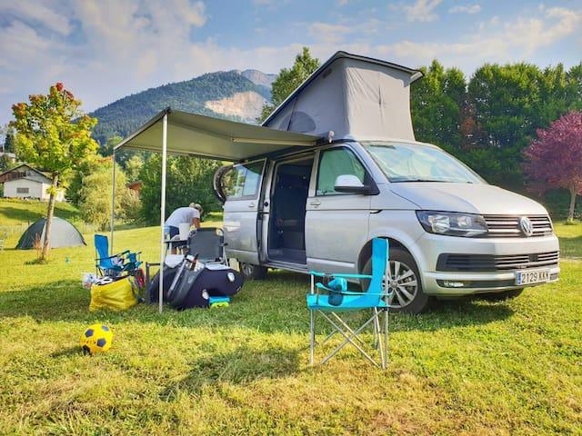 VW California Beach T6 Campervan