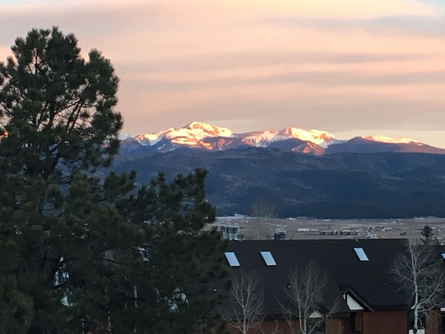 One of the most beautiful views you will ever see... right off our deck!