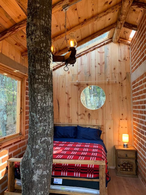 Cabaña Casa del Árbol Luz de Luna
