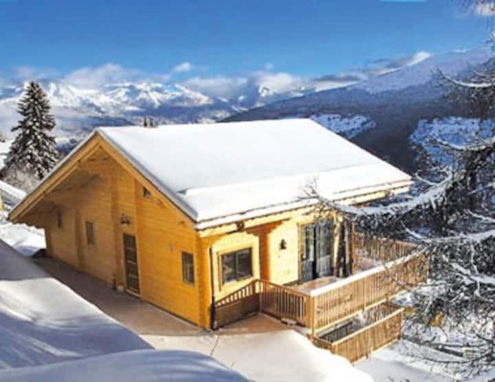 Le Wapiti 1800 m - skilift 200m - parking & garage