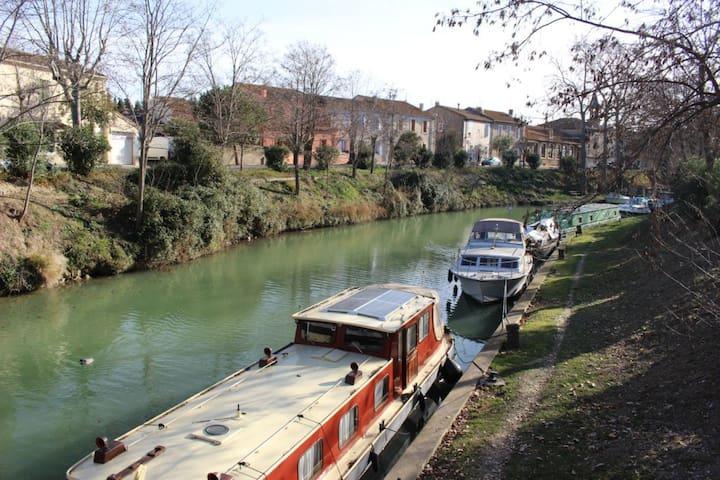 Maison au bord du Canal du Midi - Poilhes - Haus