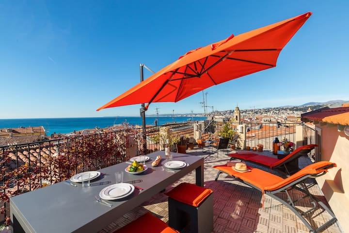 LARGE PRIVATE TERRACE, AMAZING VIEW, ALL RENOVATED