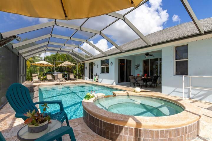 Villa Flowers - Located in SE Cape Coral - near Sun Splash Waterpark